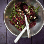 Salát z quinoy a červené řepy