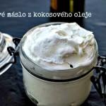 Domácí tělové máslo z kokosového oleje